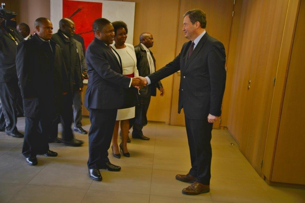 Mozambique - le Président et LB