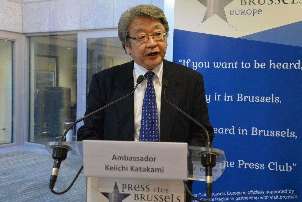 Japan's Changing International Role | Press Club Brussels ...