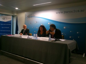 Press Conference of The 'Alliance for Peace in the Middle East'
