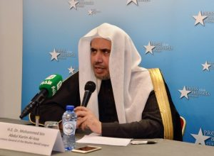 Press briefing of the Secretary General of Muslim World League Dr. Mohammad Bin Abdul Karim Al-Issa