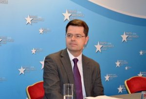 Conference by the Northern Ireland Secretary James Brokenshire