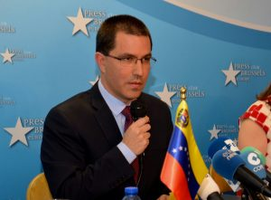 Press Conference with the Minister for Foreign Affairs of the Bolivarian Republic of Venezuela, Jorge Arreaza Montserrat