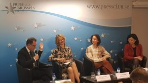 """Vice-president designate Vĕra Jourová speaks at the conference """"Towards a breakthrough on lobbying transparency?"""""""