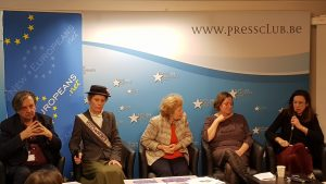 Brussels and London based NGO New Europeans came to Brussels Press Club to present its citizens manifesto
