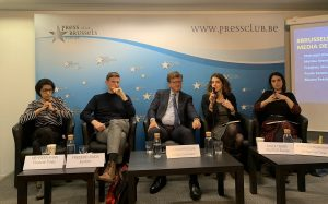 Cambre's #BrusselsCalling media debate with the European Commission's climate chief Mauro Petriccione
