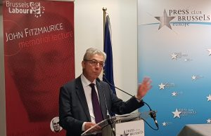 Brussels Labour John Fitzmaurice Lecture with Sir Jonathan Faull