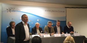 Acumen and ECPA event on the future of the Brussels Press Corps.