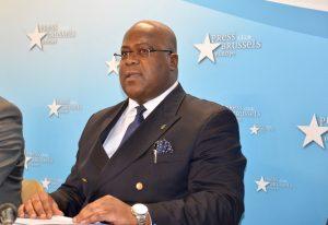 RDC – Conférence de Presse du Président de l'UDPS Félix Tshisekedi