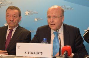 Conférence de presse de la Cour de Justice Européenne