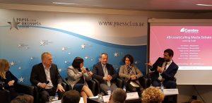 Cambre Associates #BrusselsCalling media debate on trade